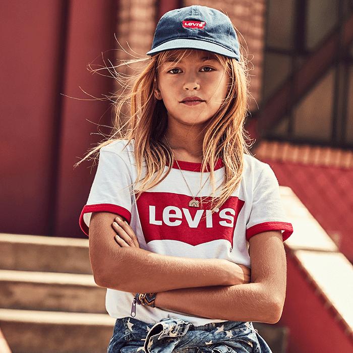 ropa para niñas levis