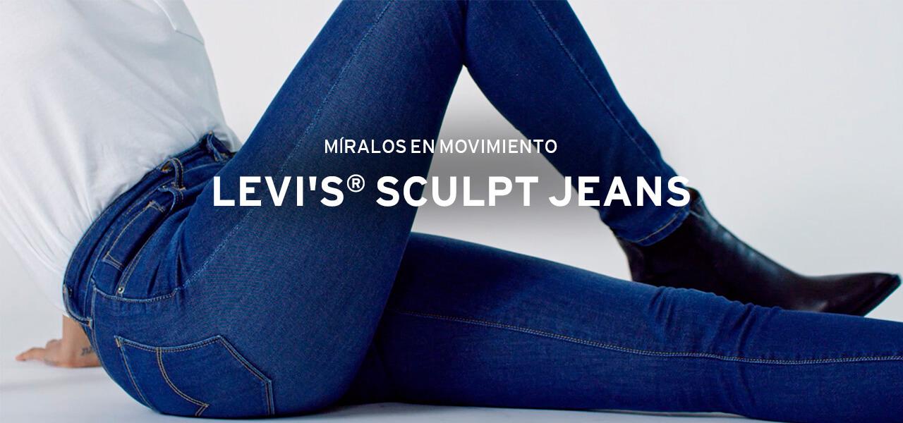 sculp jeans Levi's
